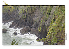 Foggy Evening At Cape Disappointment Carry-all Pouch