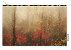 Foggy Fall On The Parkway Carry-all Pouch