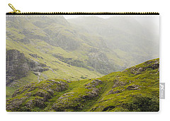 Carry-all Pouch featuring the photograph Foggy Highlands Morning by Christi Kraft