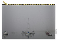 Carry-all Pouch featuring the photograph Waiting Out The Fog by David Chandler