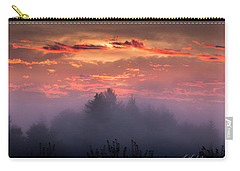Foggy Mist At Dawn Carry-all Pouch