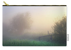 Foggy Morning Carry-all Pouch by Dan Jurak