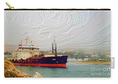 Foggy Morro Bay Carry-all Pouch by Methune Hively