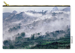 Foggy Mountain Of Sa Pa In Vietnam Carry-all Pouch