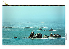 Sunny Blue Pacific Ocean Along The Oregon Coast Carry-all Pouch