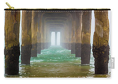 Carry-all Pouch featuring the photograph Coastal Fog by April Reppucci