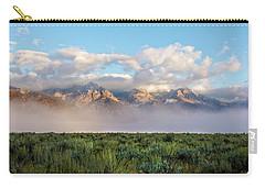 Foggy Teton Sunrise - Grand Tetons National Park Wyoming Carry-all Pouch