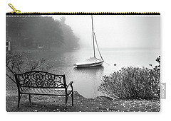 Foggy Tranquility Carry-all Pouch by Betsy Zimmerli