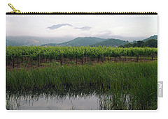 Foggy Vineyard Carry-all Pouch