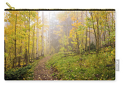 Foggy Winsor Trail Aspens In Autumn 2 - Santa Fe National Forest New Mexico Carry-all Pouch
