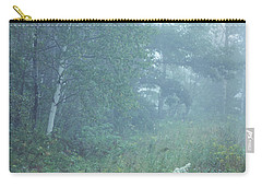 Foggy Wooded Meadow Carry-all Pouch