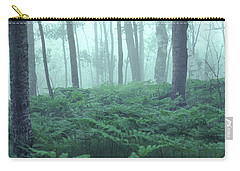 Foggy Woodland Carry-all Pouch