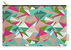 Folded Geometric Carry-all Pouch