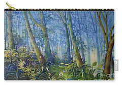 Follow Me Oil Painting Of A Magic Forest Carry-all Pouch