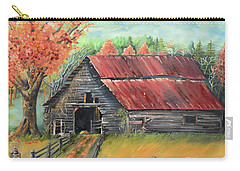 Follow The Lantern - Early Morning Barn- Anne's Barn Carry-all Pouch by Jan Dappen