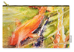 Follow The Leader Carry-all Pouch by Judith Levins