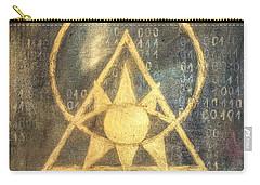 Follow The Light - Illuminati And Binary Carry-all Pouch