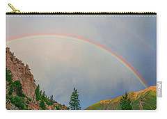 Follow The Rainbow To The Majestic Rockies Of Colorado.  Carry-all Pouch