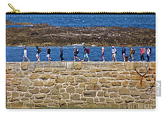 Carry-all Pouch featuring the photograph Follow The Yellow Brick Road by Terri Waters