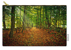 Follow The Yellow Leaf Road Carry-all Pouch