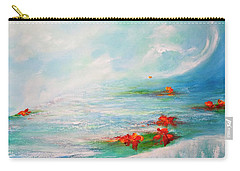 Carry-all Pouch featuring the painting  Follow Your Dreams by Teresa Wegrzyn