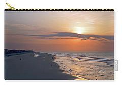 Folly Beach Sunrise Carry-all Pouch by Meta Gatschenberger