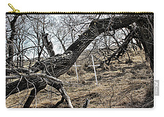Carry-all Pouch featuring the photograph Fone Hill Cemetery  by Ryan Crouse