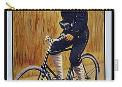 Fongers In Gebruik Bil Nederlandsche En Nederlndsch Indische Leger Vintage Cycle Poster Carry-all Pouch by R Muirhead Art