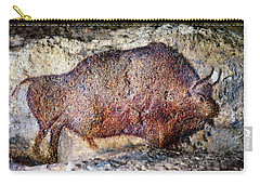 Font De Gaume Bison Carry-all Pouch