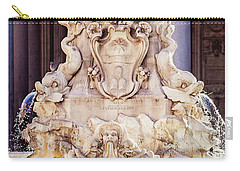 Fontana Del Pantheon - Pantheon Fountain II Carry-all Pouch