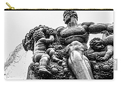 Fontana Di Piazza Solferino-1 Carry-all Pouch by Sonny Marcyan