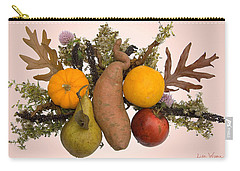 Food Bouquet Carry-all Pouch by Lise Winne