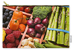 Food Compartments  Carry-all Pouch by Garry Gay