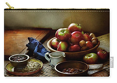 Carry-all Pouch featuring the photograph Food - Fruit - Ready For Breakfast by Mike Savad