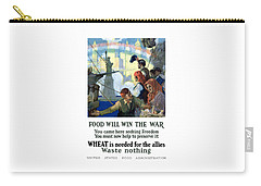 Food Will Win The War Carry-all Pouch by War Is Hell Store