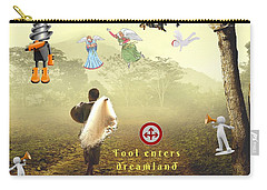 Fool Enters Dreamland Carry-all Pouch