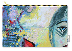 Foolish Love Carry-all Pouch by Donna Blackhall