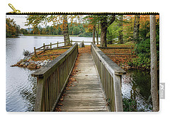 Foot Bridge At Linville Land Harbor Carry-all Pouch
