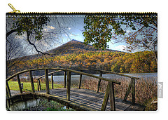 Foot Bridge Carry-all Pouch by Todd Hostetter
