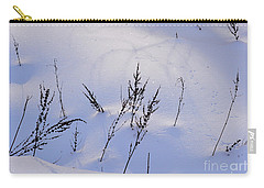 Foot Prints In The Snow Carry-all Pouch