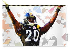 Carry-all Pouch featuring the painting Football 113 by Movie Poster Prints