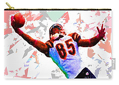 Carry-all Pouch featuring the painting Football 114 by Movie Poster Prints