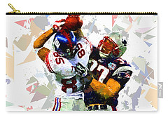 Carry-all Pouch featuring the painting Football 116 by Movie Poster Prints