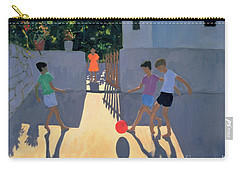 Footballers Carry-all Pouch by Andrew Macara