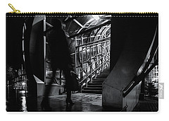 Carry-all Pouch featuring the photograph Footbridge Blur by John Williams