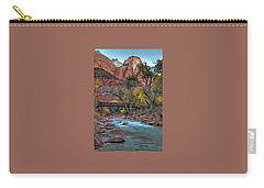Footbridge Over Virgin River Carry-all Pouch