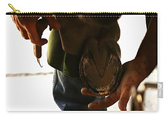 Carry-all Pouch featuring the photograph Footcare by Angela Rath