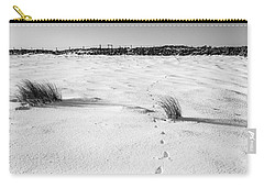 Footprints In The Snow I Carry-all Pouch