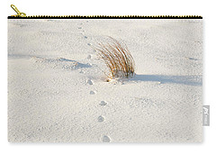 Footprints In The Snow II Carry-all Pouch