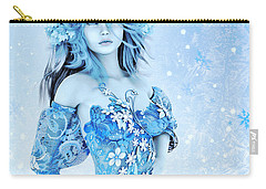 For All Winter Friends Carry-all Pouch by Jutta Maria Pusl